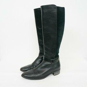 Aquatalia Olalla Leather Riding Knee High Boots